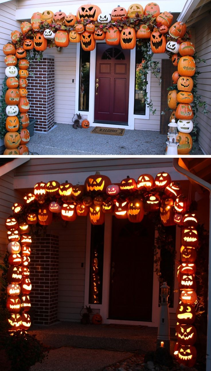 Best 50 Best Diy Halloween Outdoor Decorations For 2019 This Month