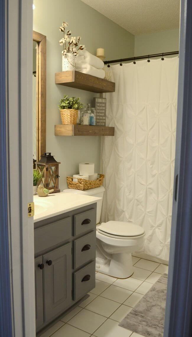 Best 25 Best Diy Bathroom Shelf Ideas And Designs For 2019 This Month