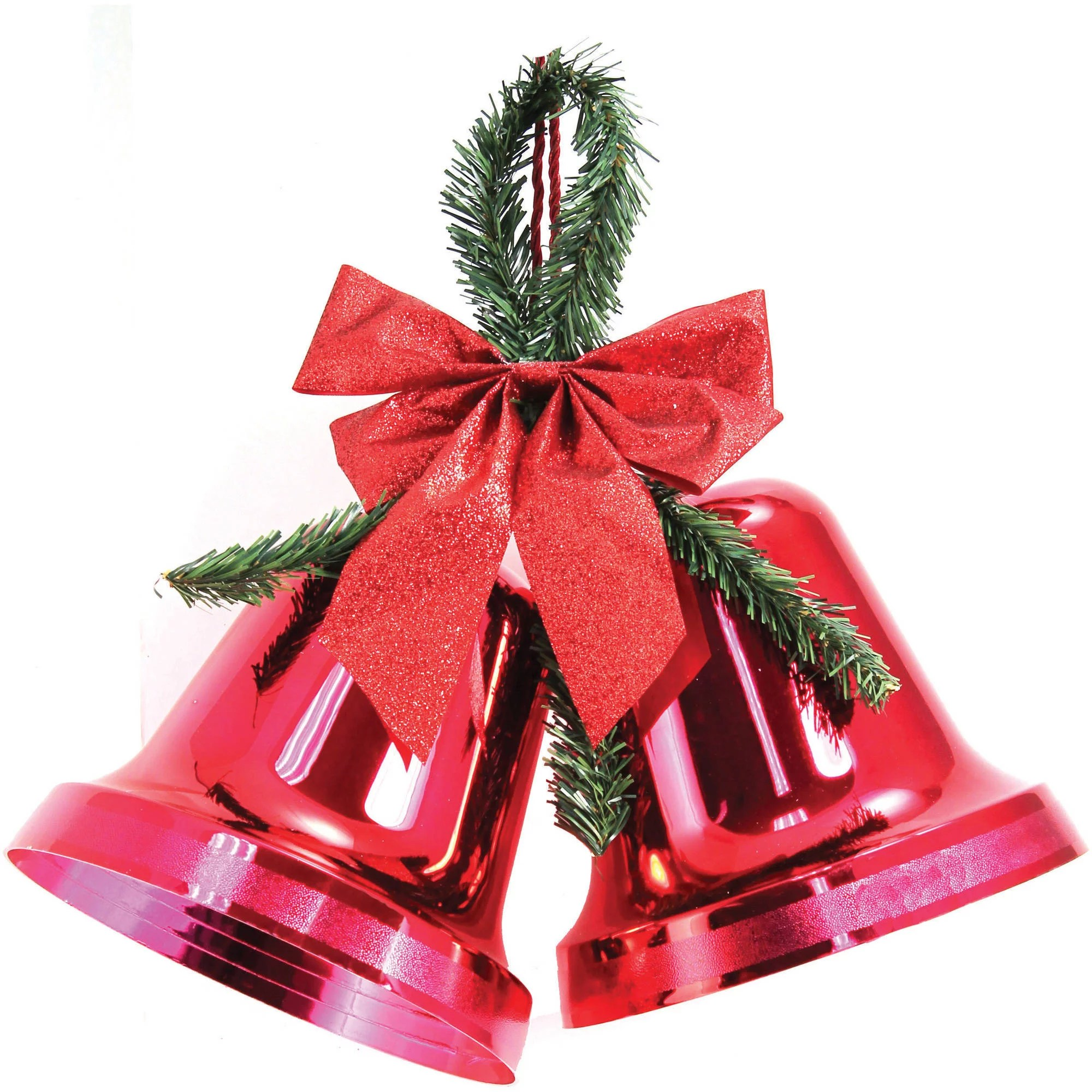 Best Holiday Time Christmas Decor 9 5 Double Bell Red Indoor This Month
