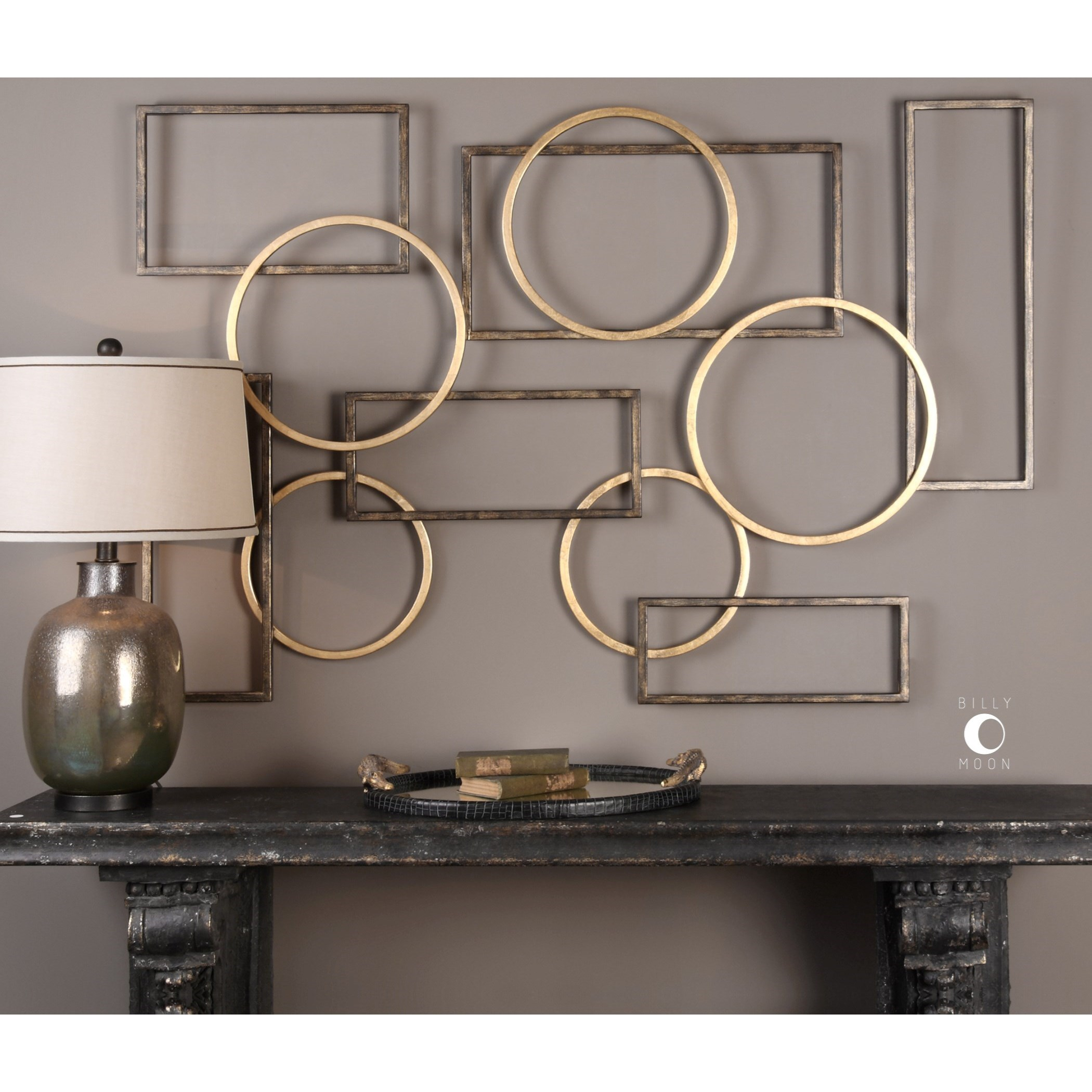 Best Uttermost Alternative Wall Decor 04062 Elias Bronze And This Month