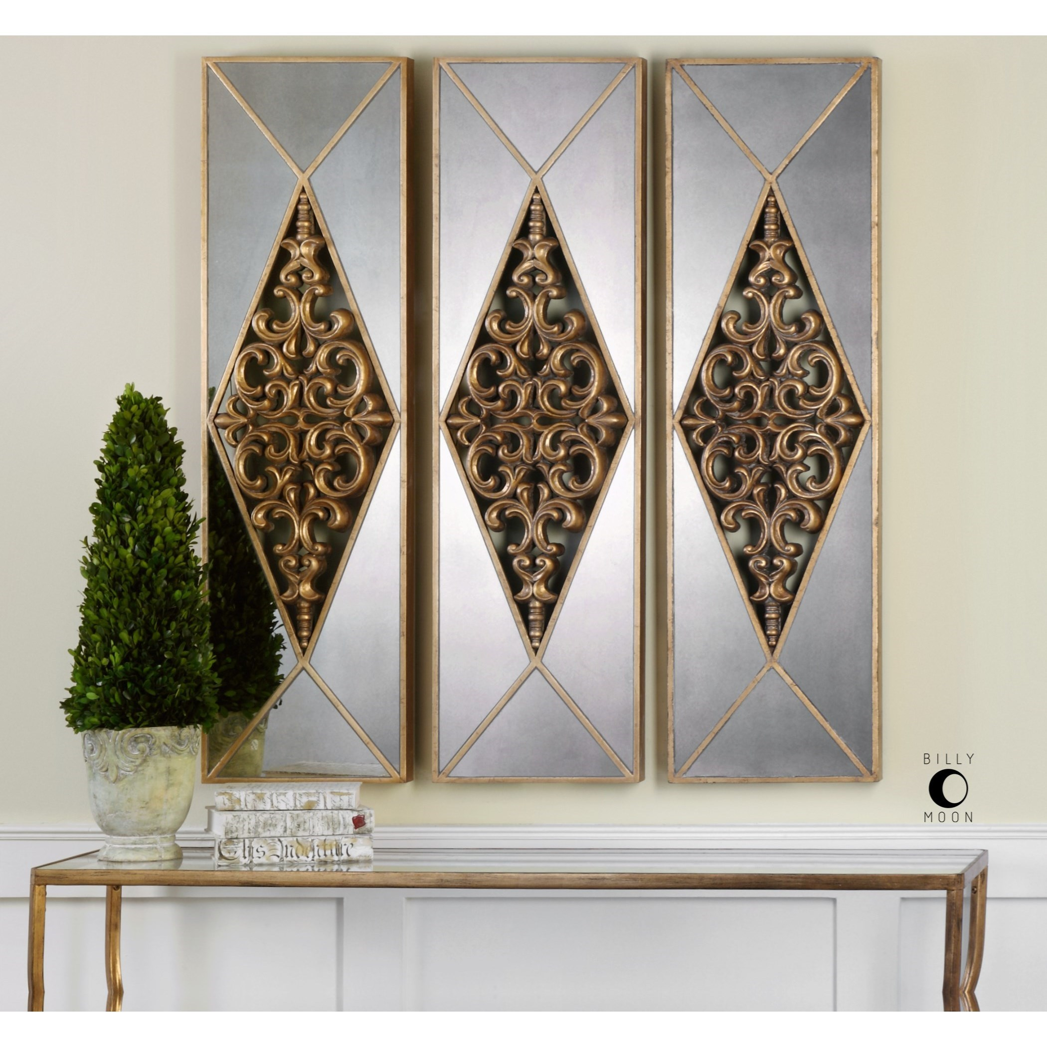 Best Uttermost Alternative Wall Decor 04065 Serrano Mirrored This Month
