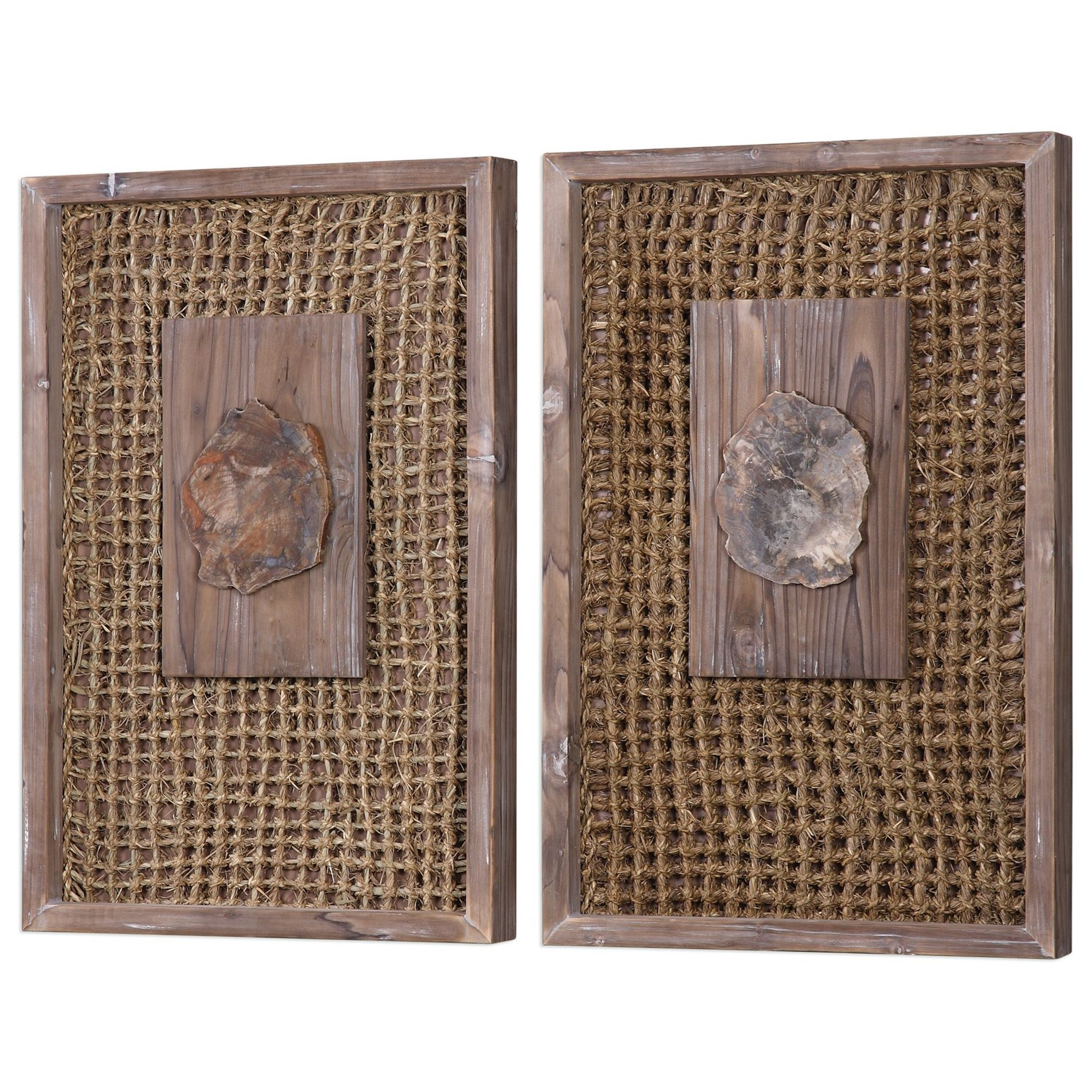 Best Uttermost Alternative Wall Decor 04126 Endicott Petrified This Month