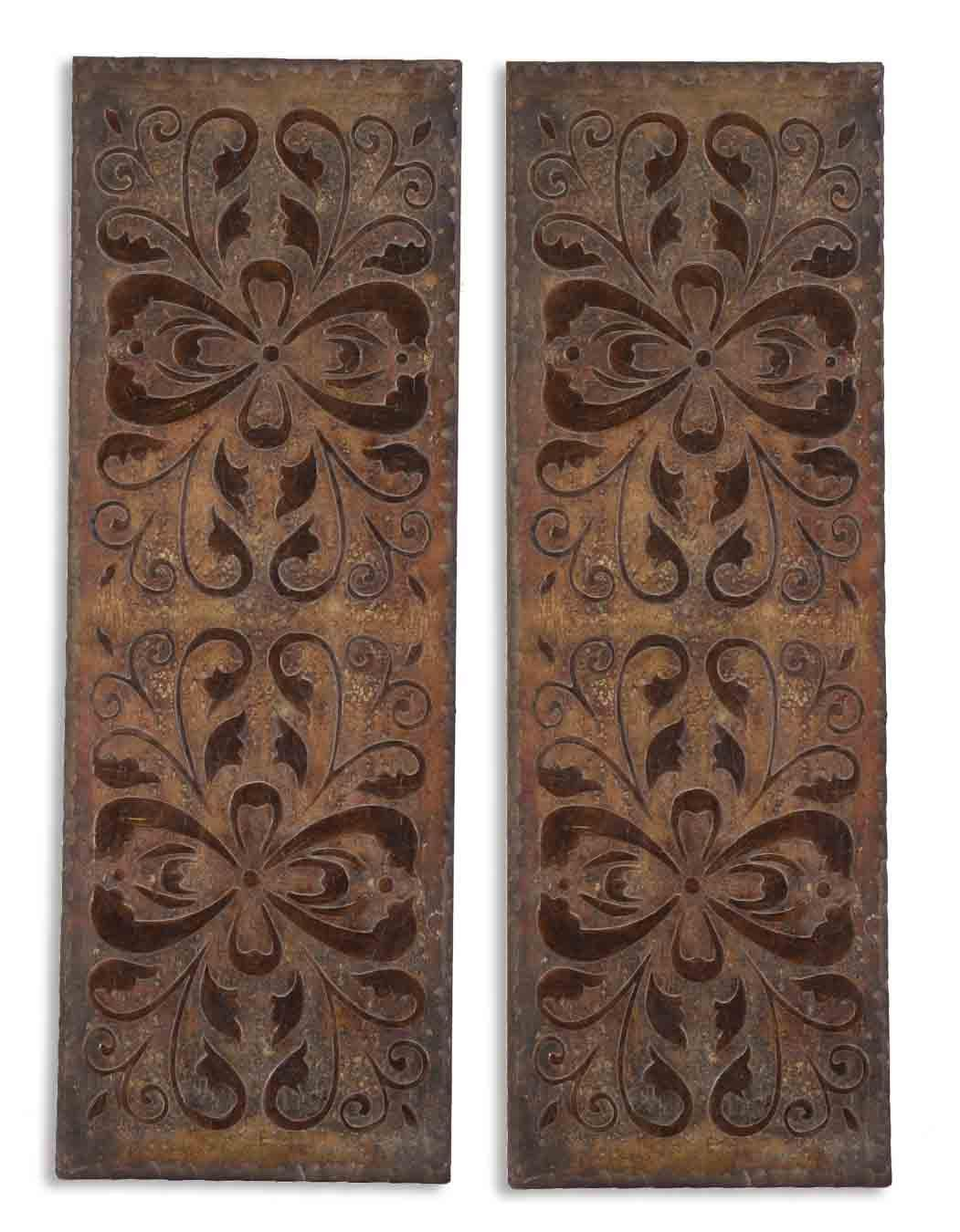 Best Uttermost Alternative Wall Decor 13643 Alexia Panels Set This Month