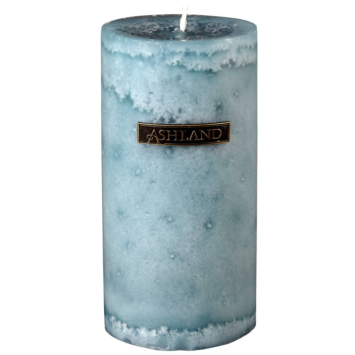Best Seaside Mottled Pillar Candle By Ashland® Decor Scents™ This Month