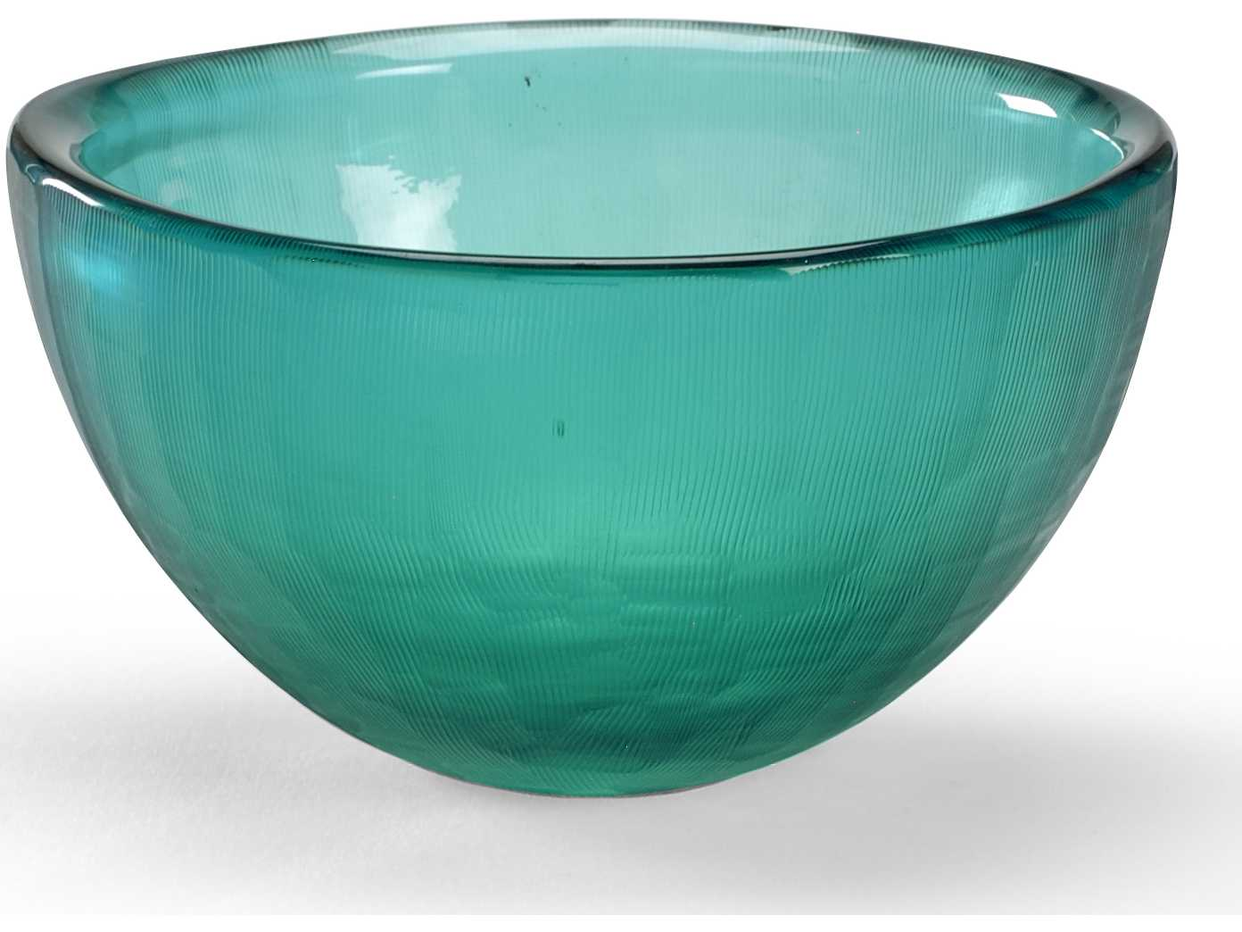 Best Wildwood Lamps Centrepiece Glass Bowl Grey Blue With Lines This Month