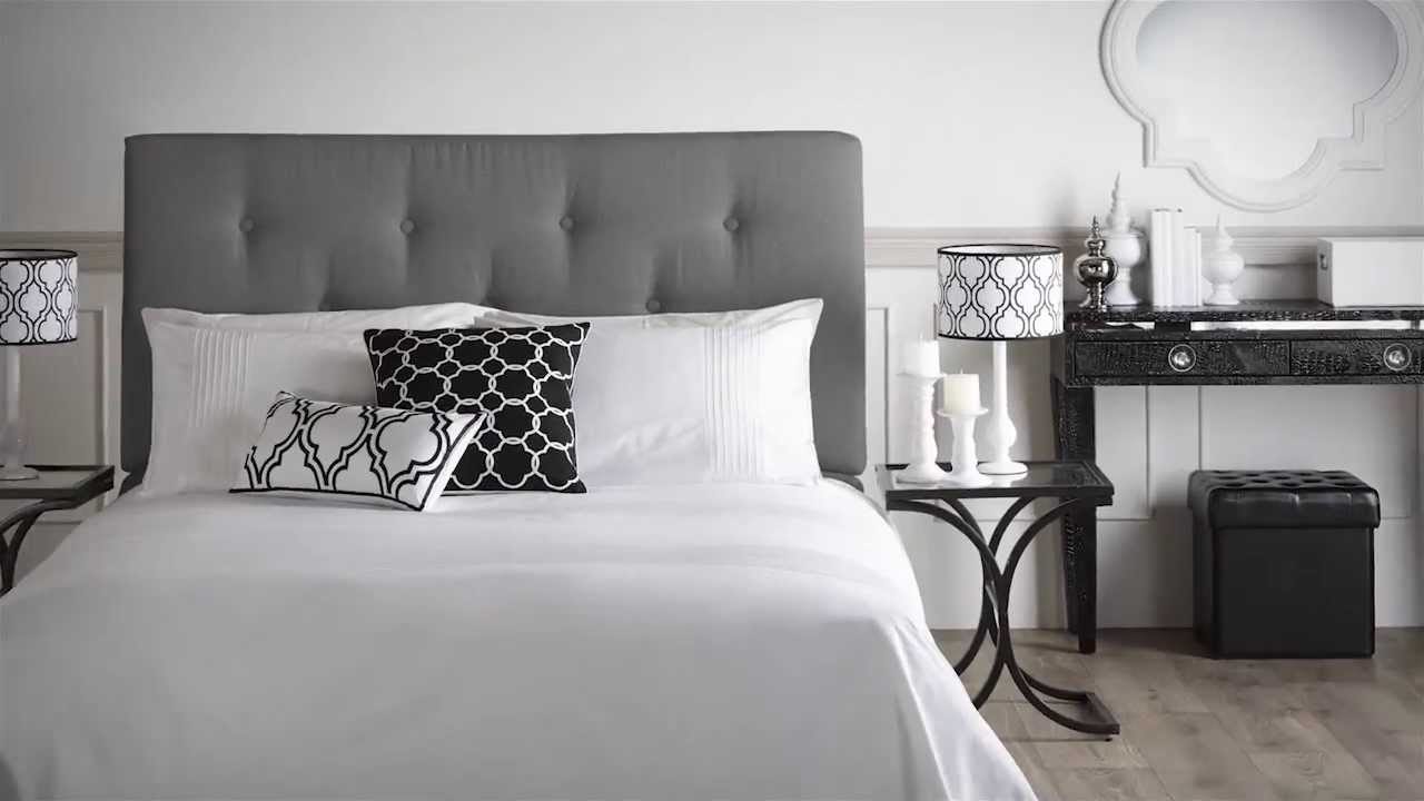 Best Black And White Decor Bouclair Home May 2013 Youtube This Month
