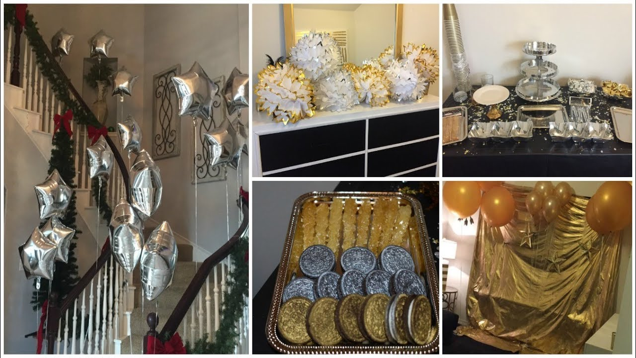 Best Dollar Tree Diy Silver Gold Theme Birthday Party Decor This Month