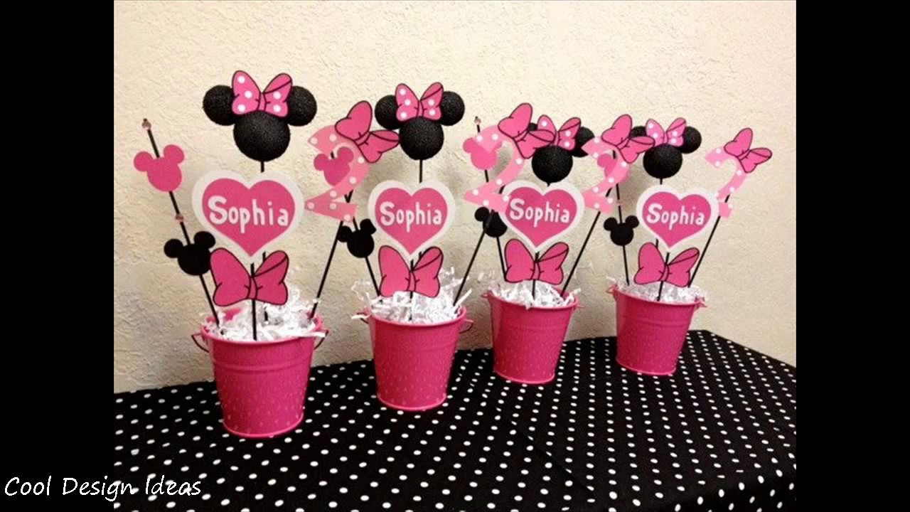 Best Diy Minnie Mouse Party Decorations Ideas Youtube This Month
