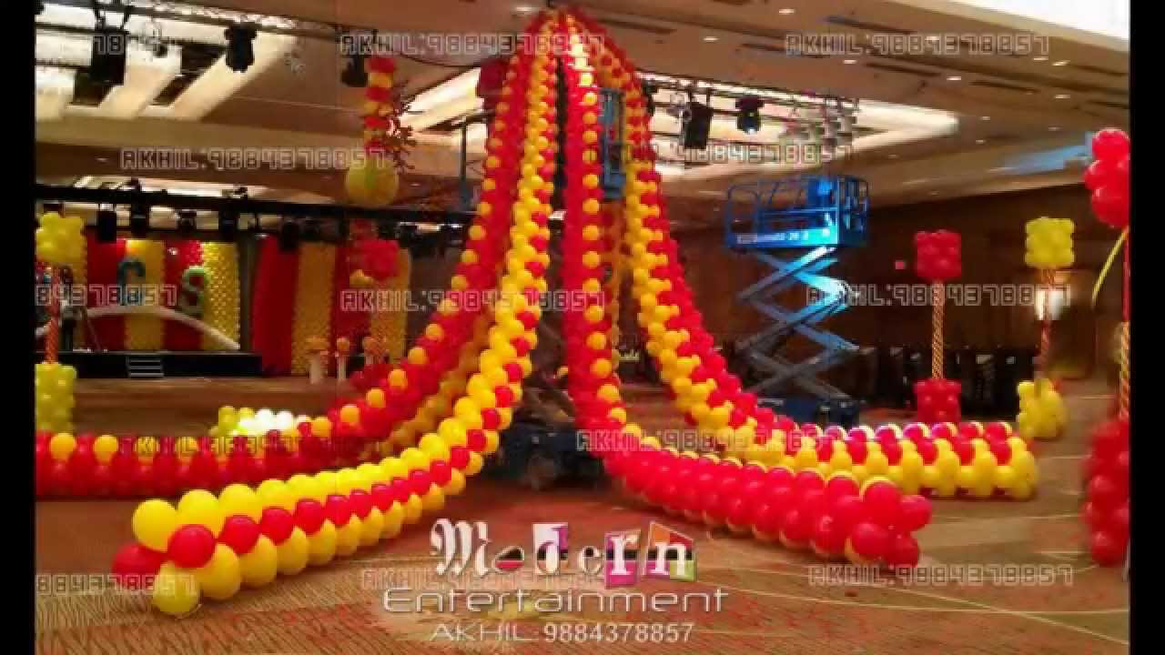 Best World Class Balloon Decoration In Chennai Akhil This Month