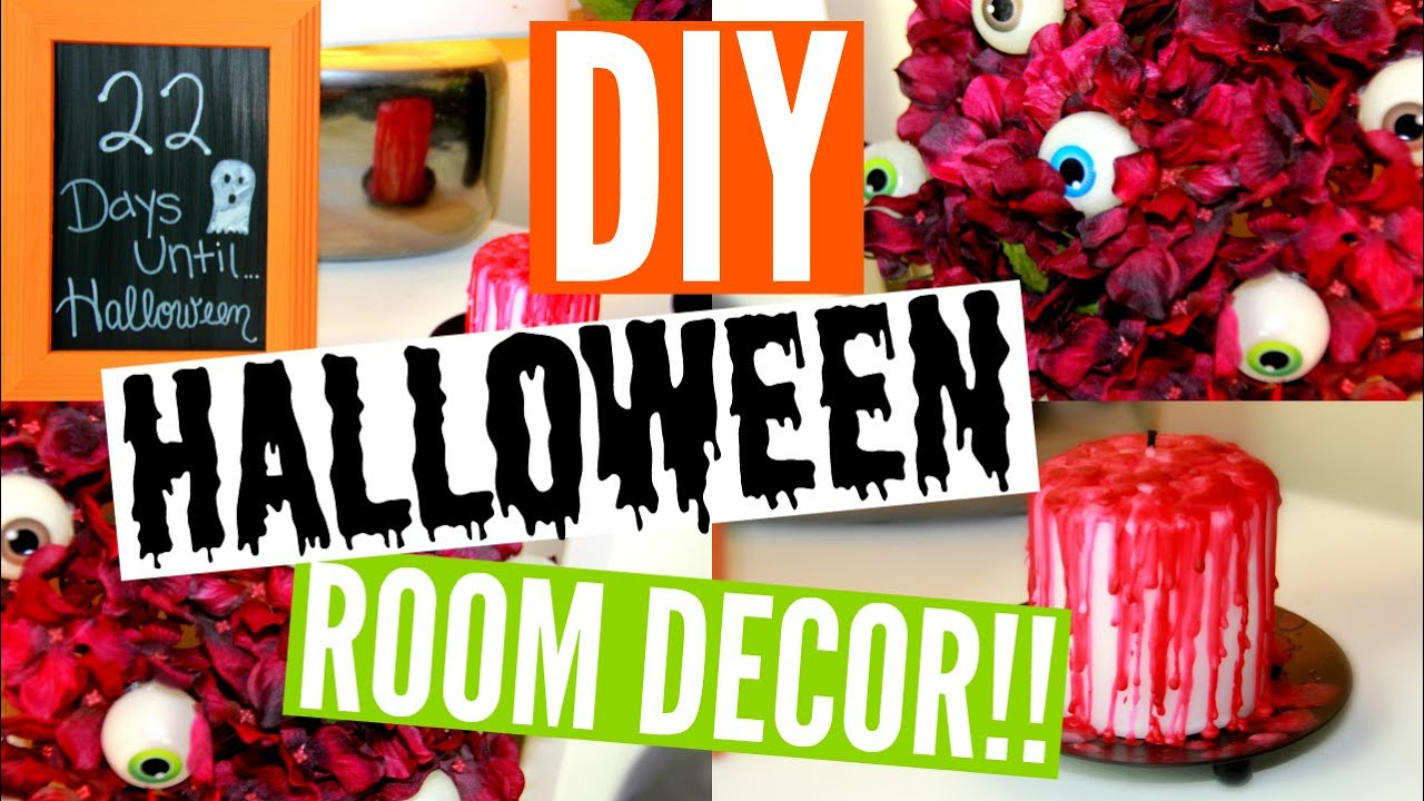 Best Diy Halloween Room Decor 3 Easy Affordable Ideas This Month