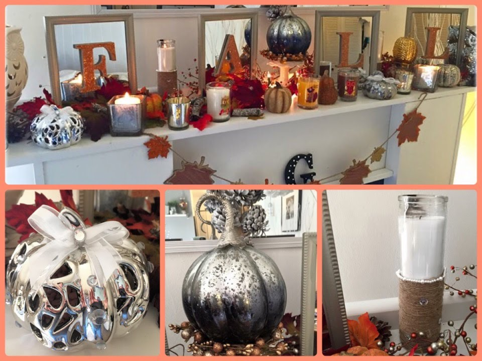 Best Fall Fireplace Decor And A D I Y Dollar Tree Wal Mart This Month