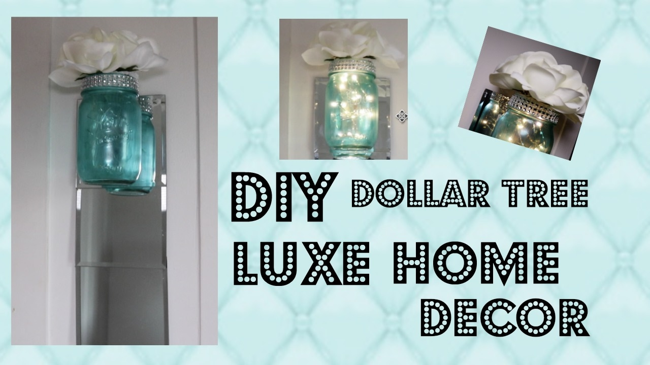 Best Diy Elegant Home Decor Dollar Tree Youtube This Month