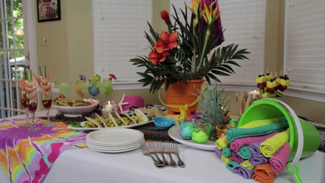 Best How To Make Indoor Beach Party Decorations Youtube This Month