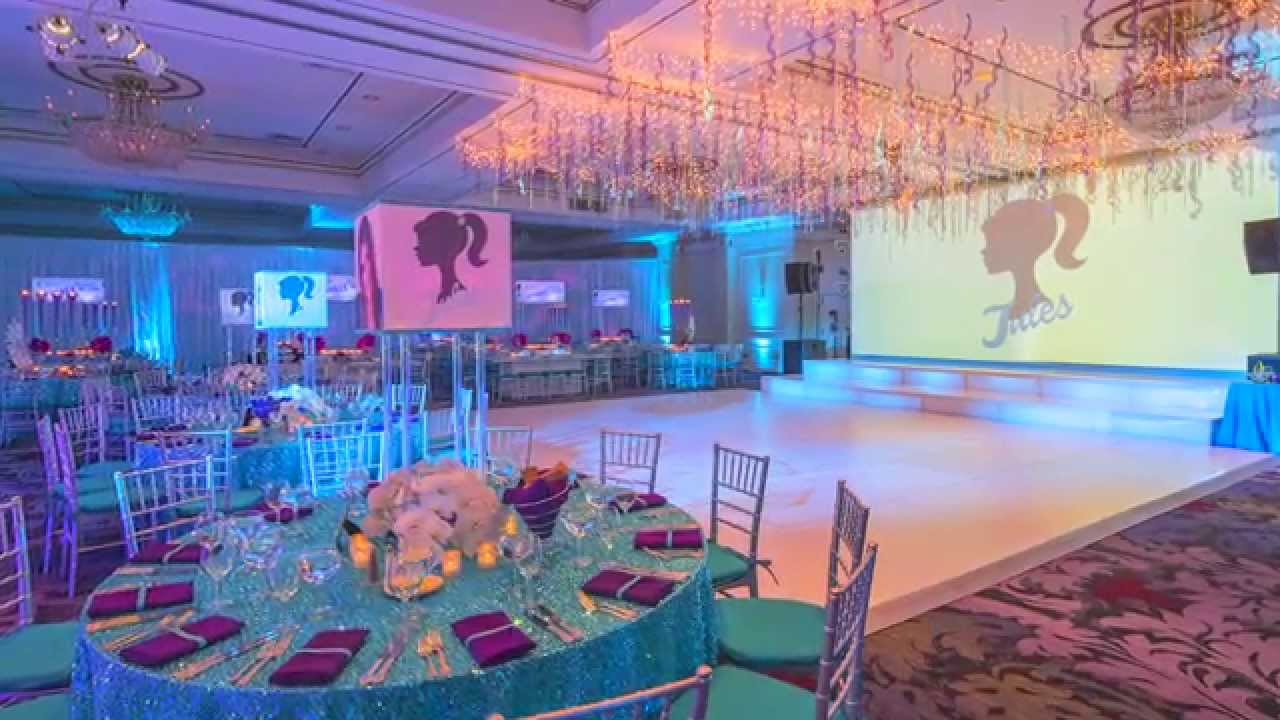 Best Bat Mitzvah Party Decor Julia S Sparkling Night In Pearl This Month