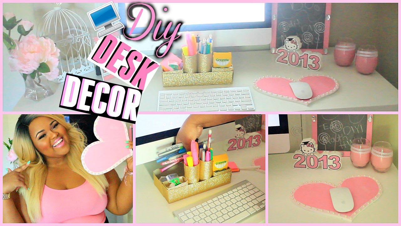 Best ♡Diy Desk Decorations Organization Make Your Desk Super This Month