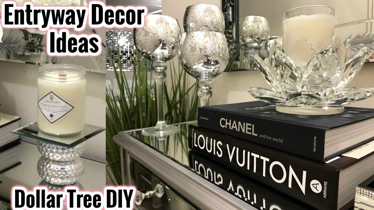 Best Glam Mirror Entryway Decor Ideas Dollar Tree Diy Home This Month
