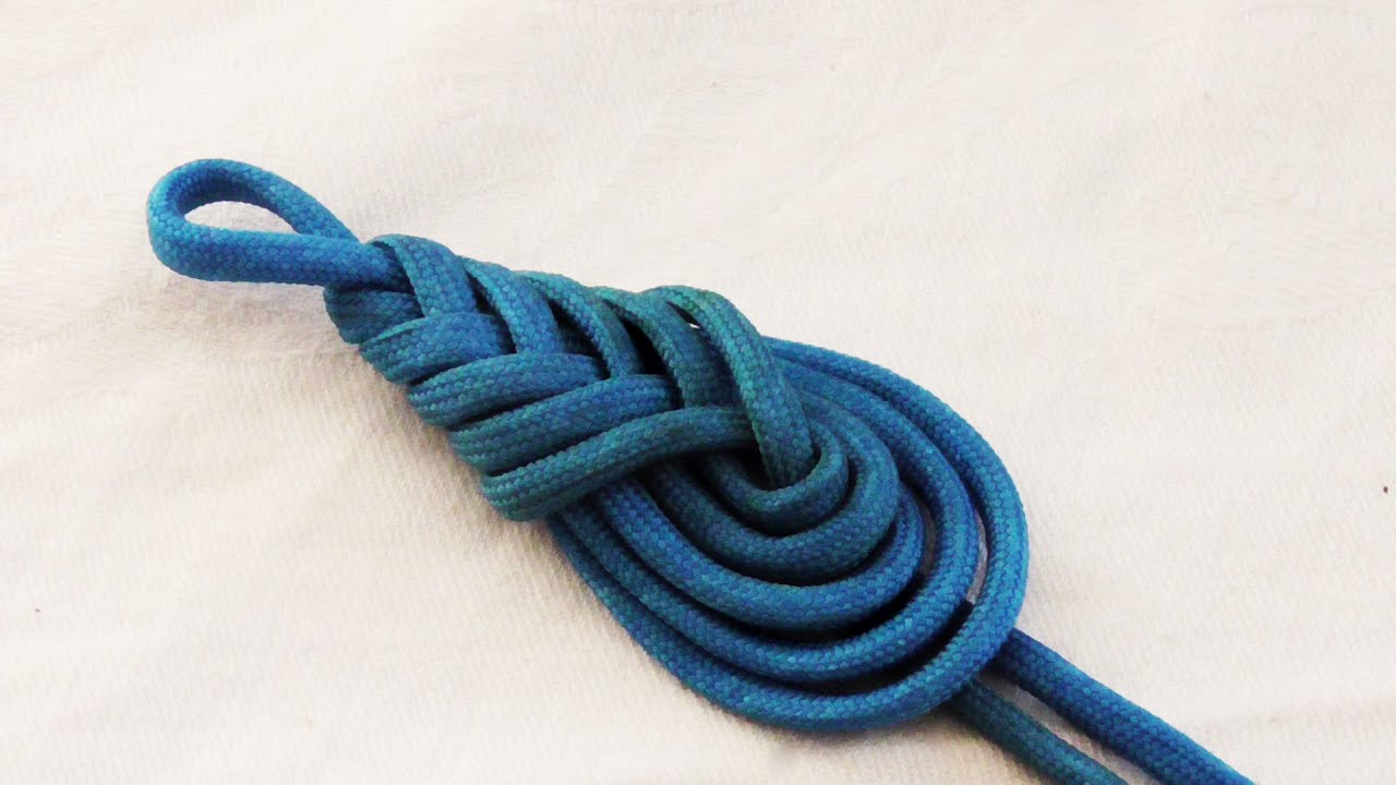 Best Learn How To Tie A Decorative Paracord Teardrop Knot Pipa This Month