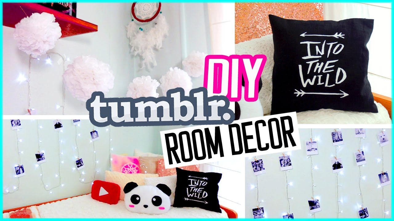Best Diy Tumblr Room Decor Diy Polaroids Urban Outffiters Pillow More Youtube This Month