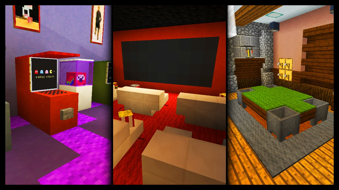 Best Minecraft Games Room Designs Ideas Youtube This Month