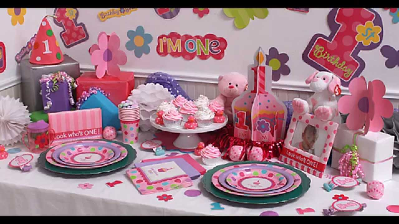 Best Girls 1St Birthday Party Themes Decorations At Home Ideas This Month