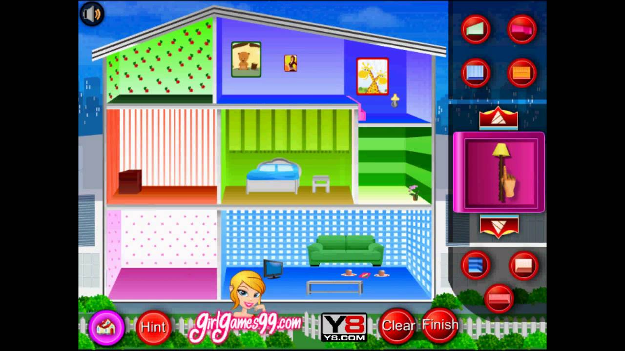 Best Doll House Decoration Game Flash Played By Magicolo 2013 This Month