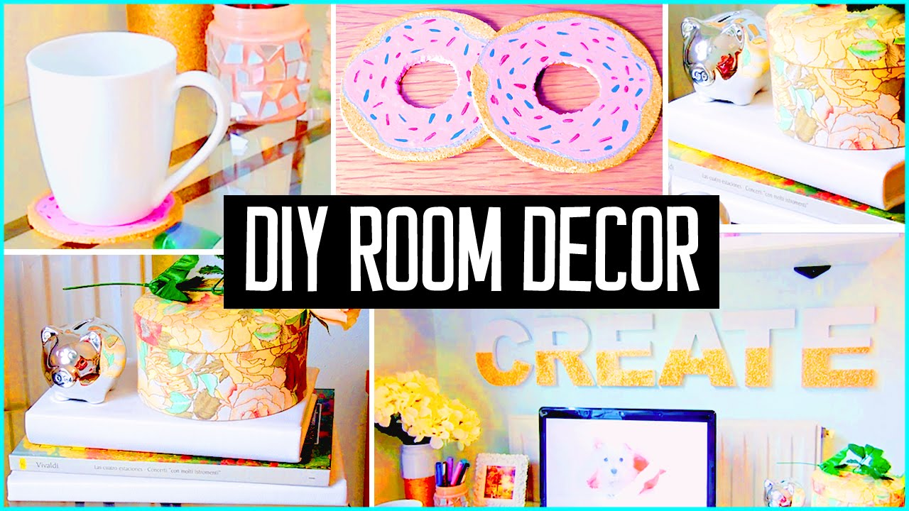 Best Diy Room Decor Desk Decorations Cheap Cute Projects This Month