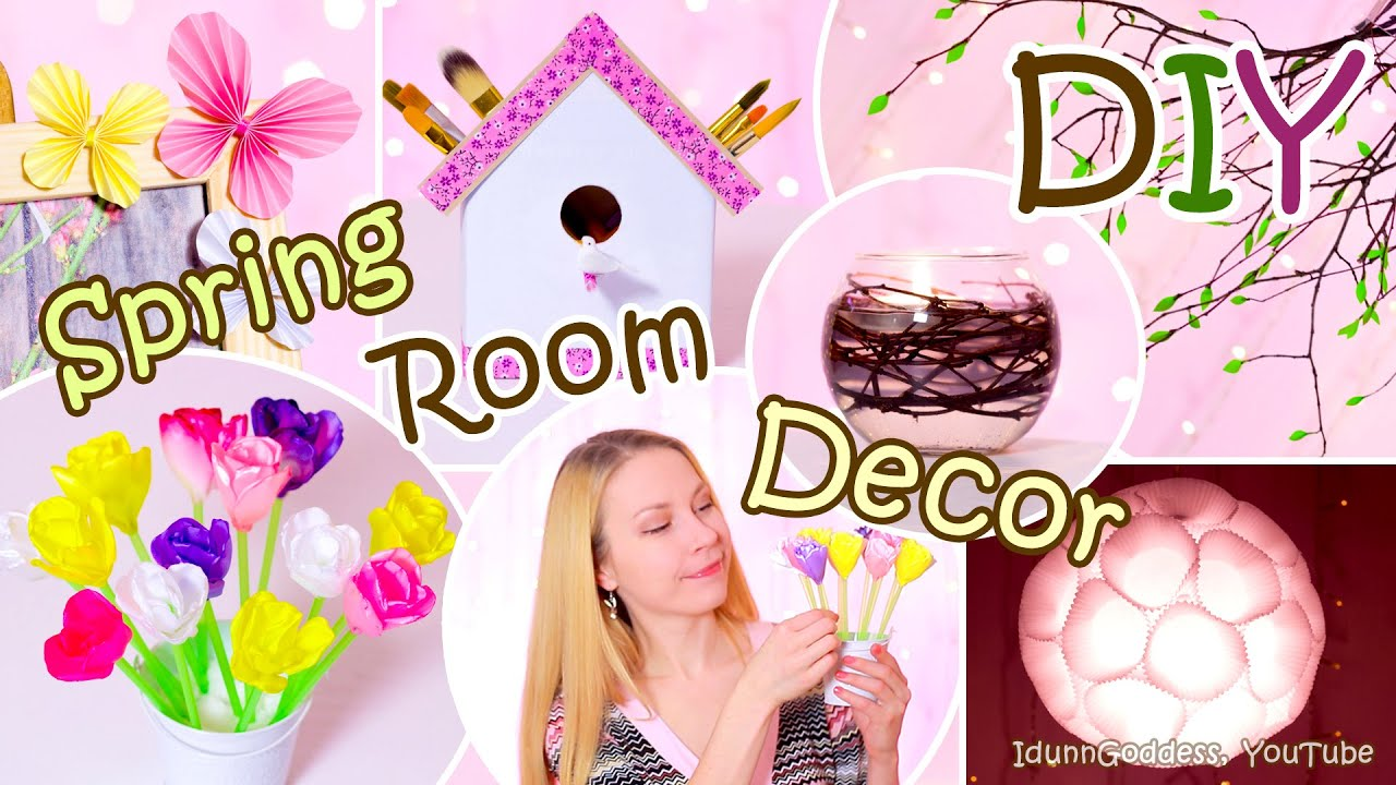 Best 5 Diy Spring Room Decor Ideas – Easy Diy Room Decorations This Month