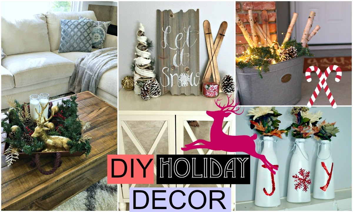 Best Diy Holiday Room Decor Diy Christmas Youtube This Month