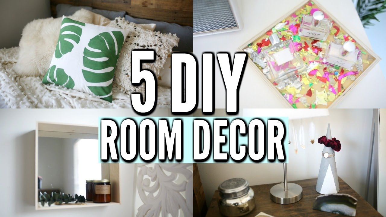 Best 5 Diy Room Decor Ideas Easy Diy Room Decorations For This Month