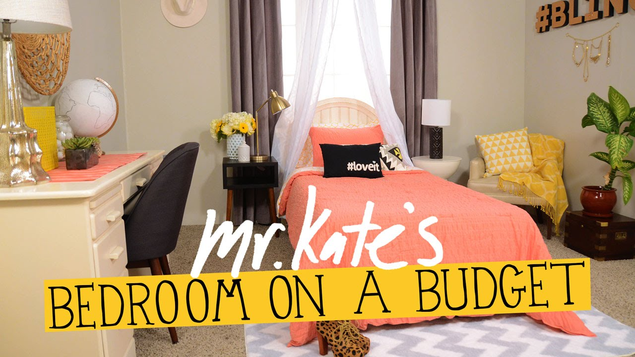Best Bedroom On A Budget Diy Home Decor Mr Kate Youtube This Month