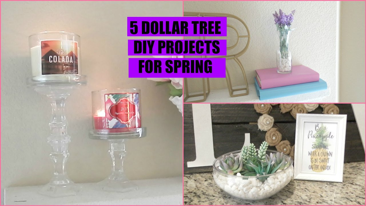 Best Dollar Tree Diy Home Decor Collab Youtube This Month