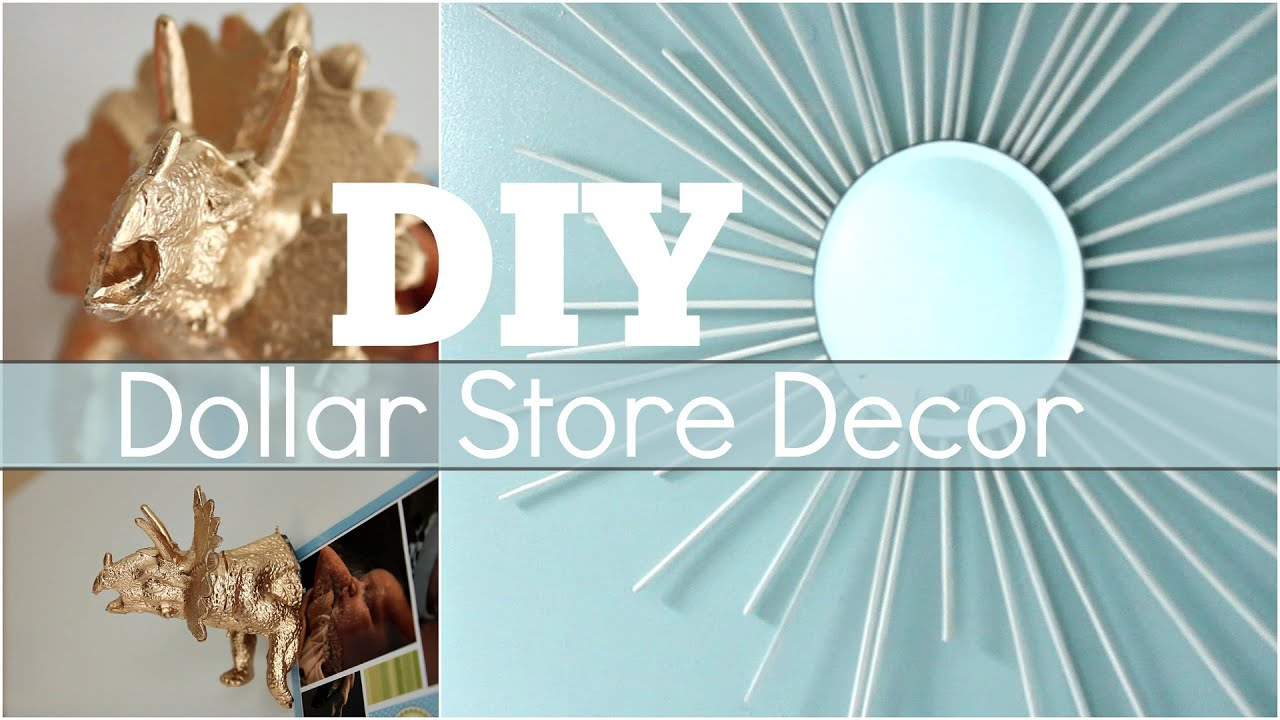 Best Diy Dollar Store Decor Youtube This Month