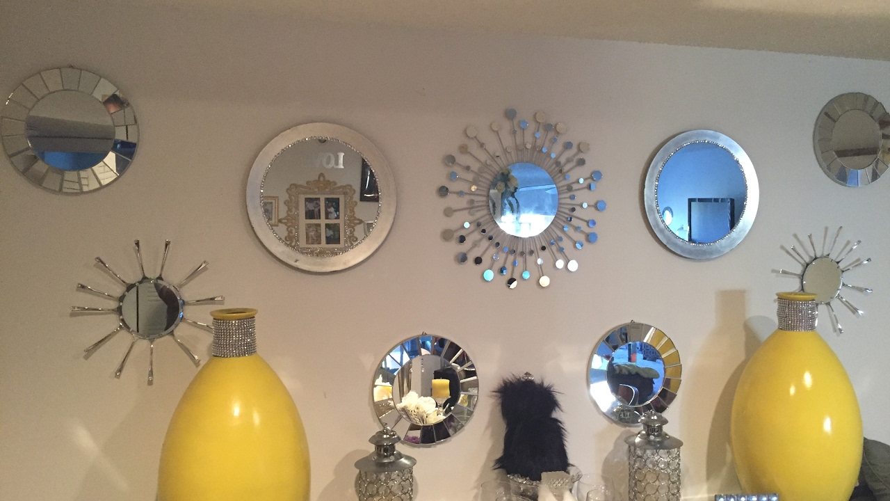 Best Diy Glam Wall Decor Mirror Gallery Youtube This Month