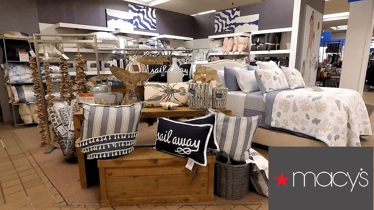 Best Macy S Beach House Decor Home Decor Shop With Me This Month