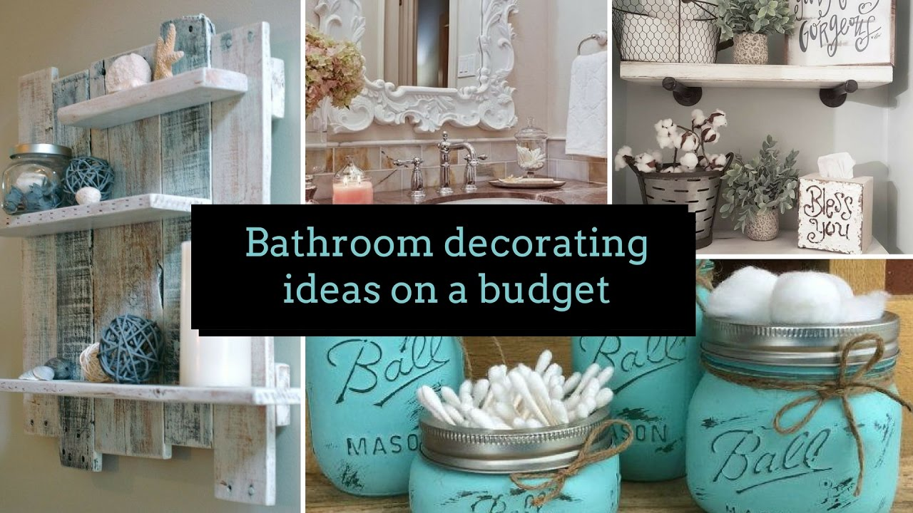 Best Diy Bathroom Decorating Ideas On A Budget Home Decor This Month