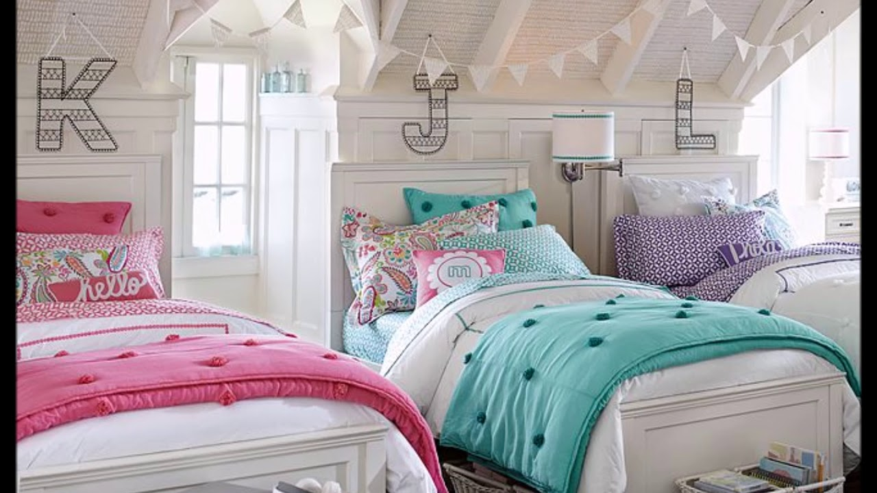 Best Shared Bedroom Ideas For Young And Teenage Girls Youtube This Month