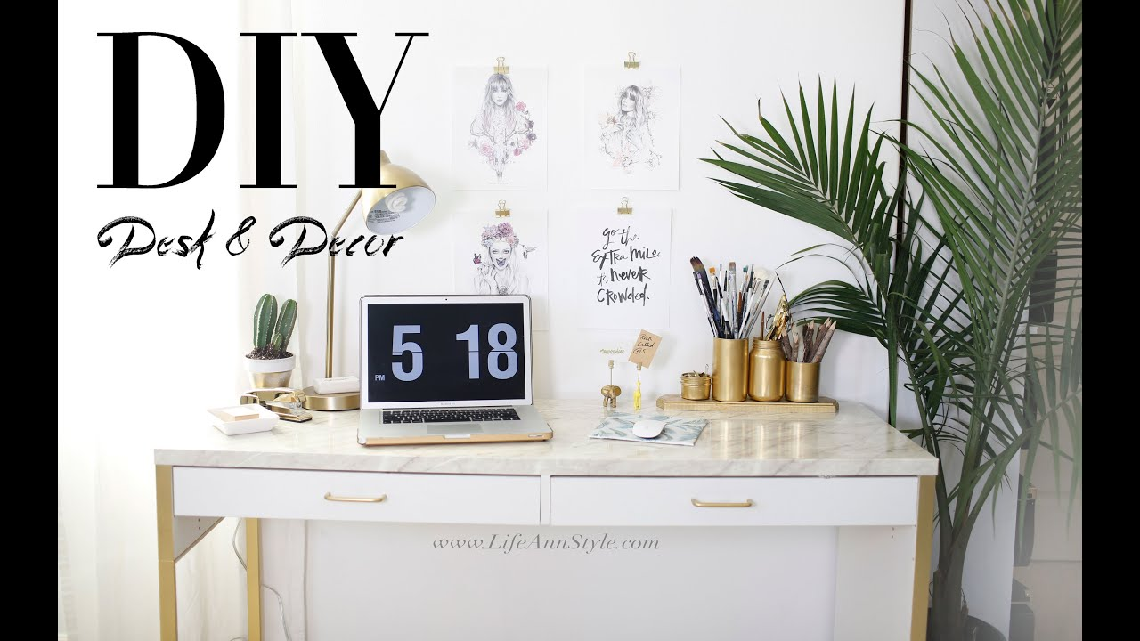 Best 5 Easy Diy Desk Decor Organization Ikea Hacks Ann Le This Month
