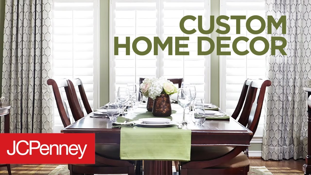 Best Jcpenney In Home Custom Decorating Interior Decorating This Month