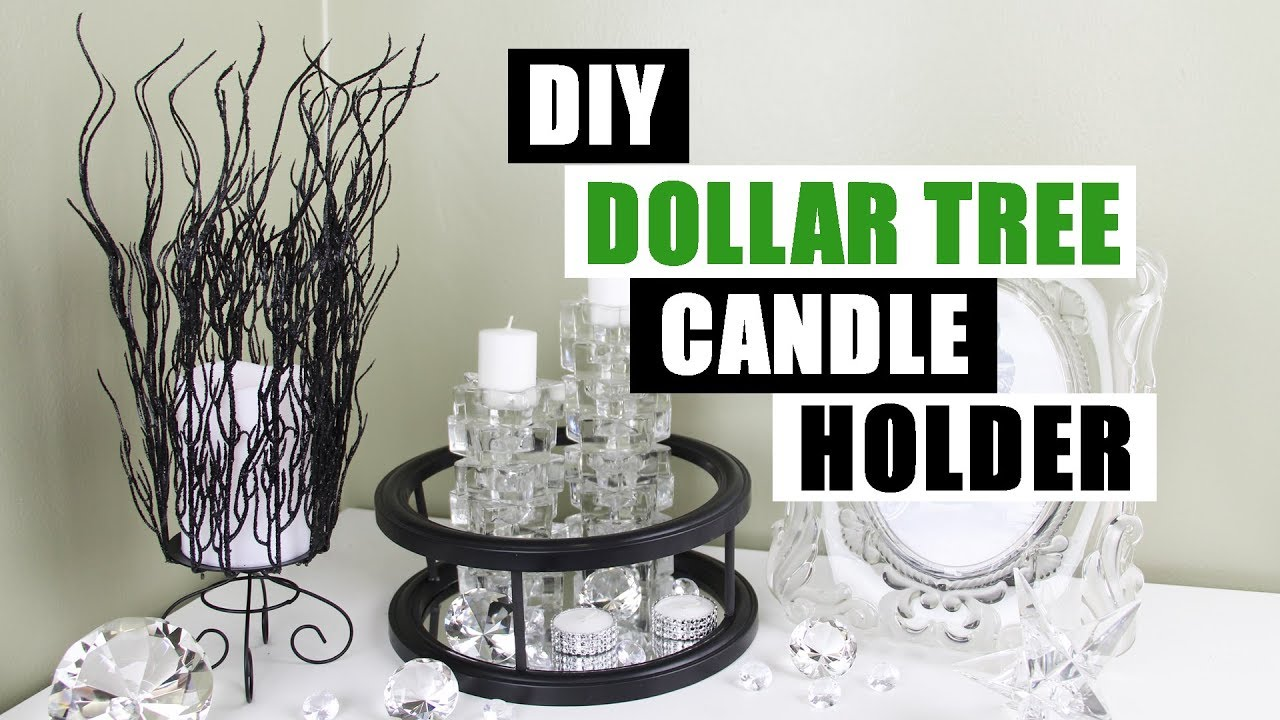 Best Diy Dollar Tree Candle Holder Diy Home Decor Youtube This Month
