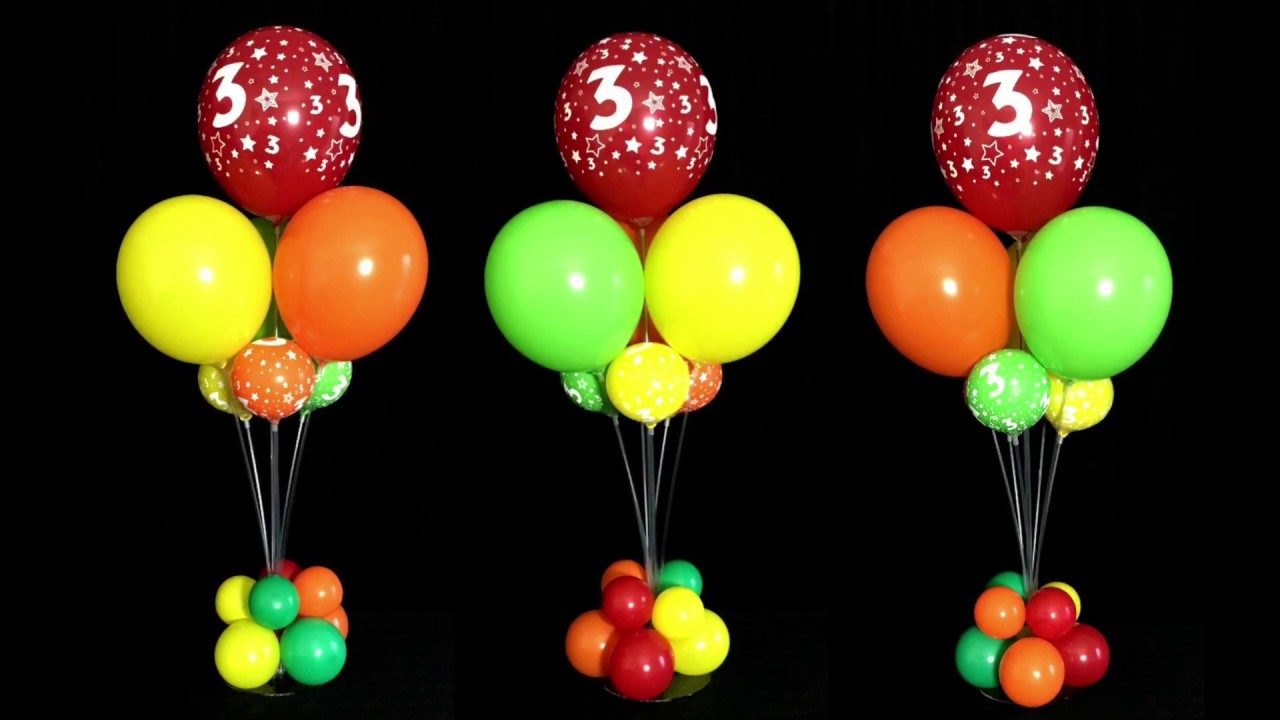 Best Balloon Bouquet Centerpieces Without Helium Youtube This Month