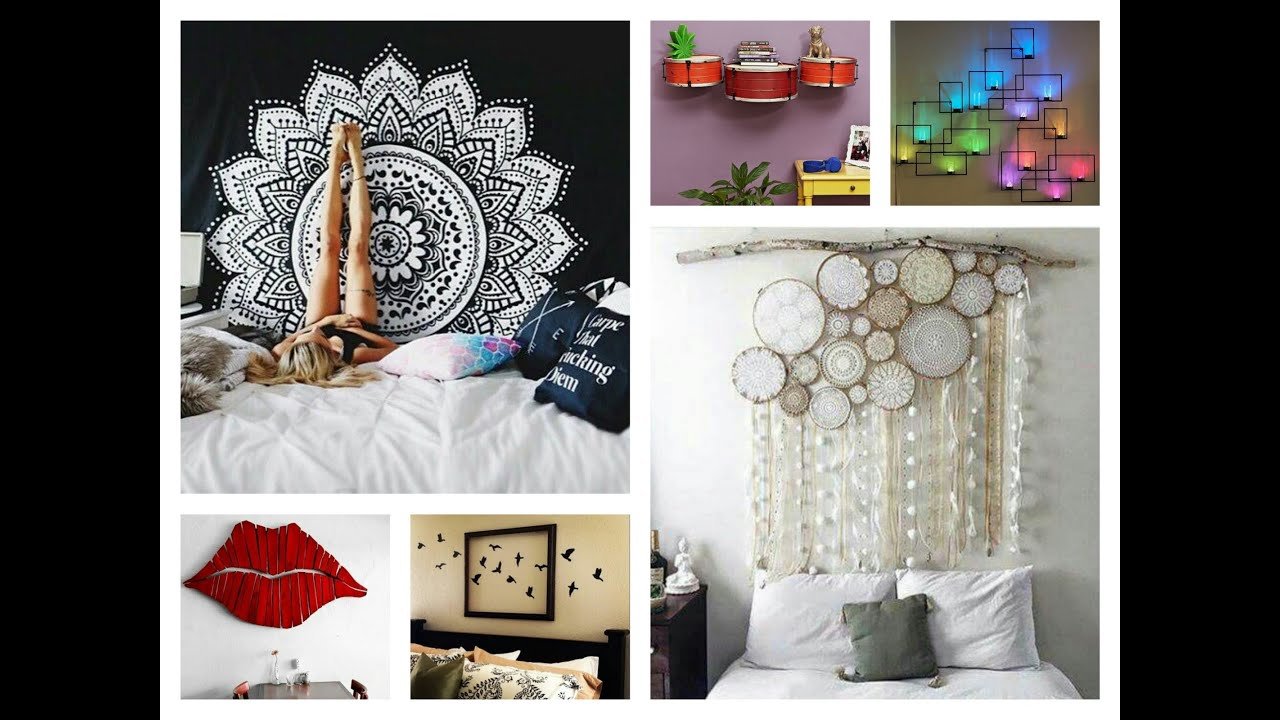 Best Creative Wall Decor Ideas Diy Room Decorations Youtube This Month