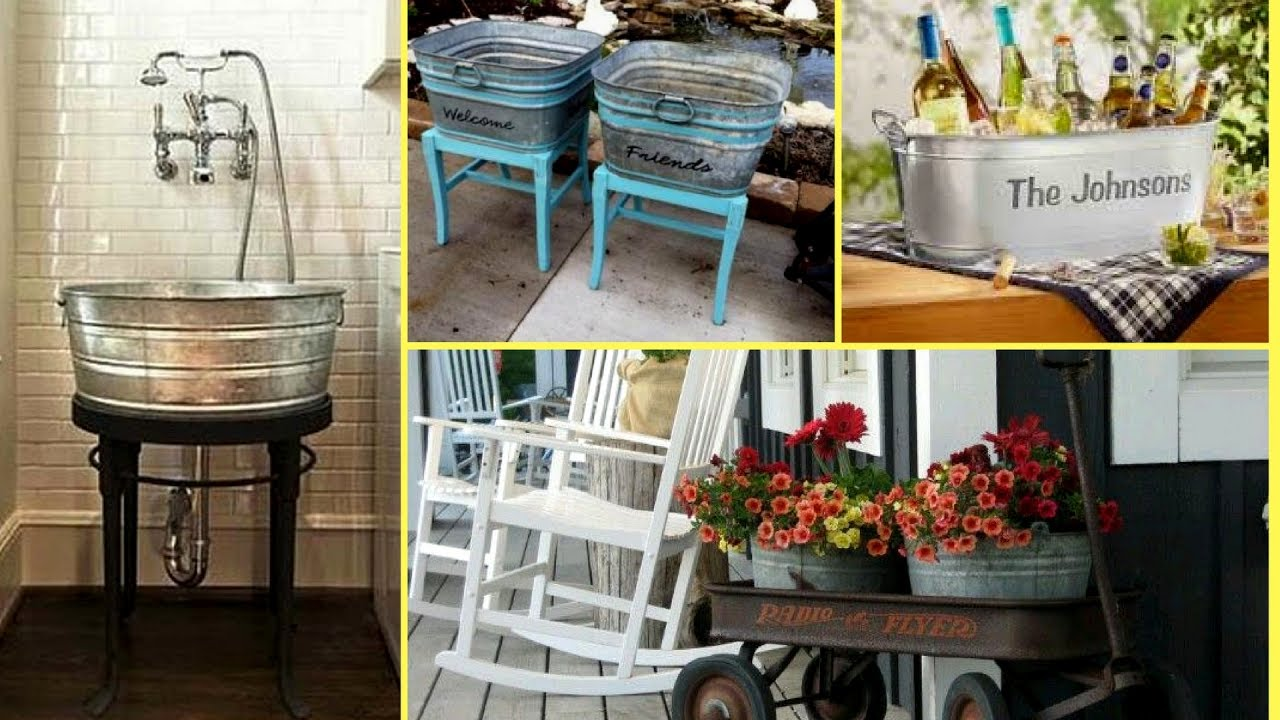 Best How To Re Purpose Reuse The Galvanized Tub Bucket Ideas This Month