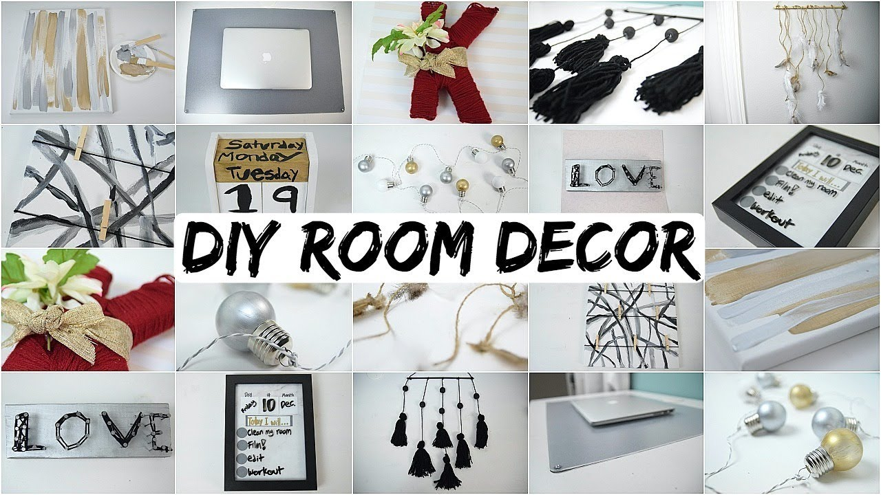 Best 10 Diy Room Decor Ideas 2018 Aesthetically Pleasing Youtube This Month