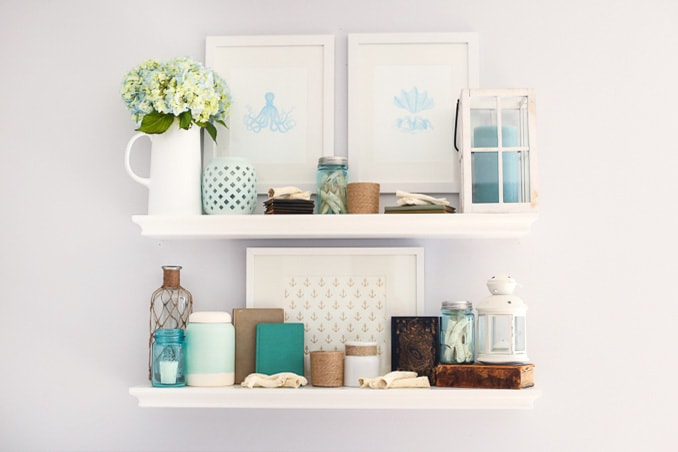 Best How To Style Shelves In 7 Simple Steps And My Fall Shelf This Month