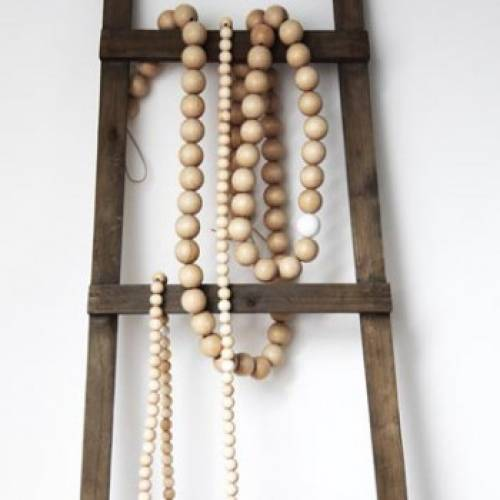 Best 35 Ideas For Interior Decorating With Wooden Beads And This Month