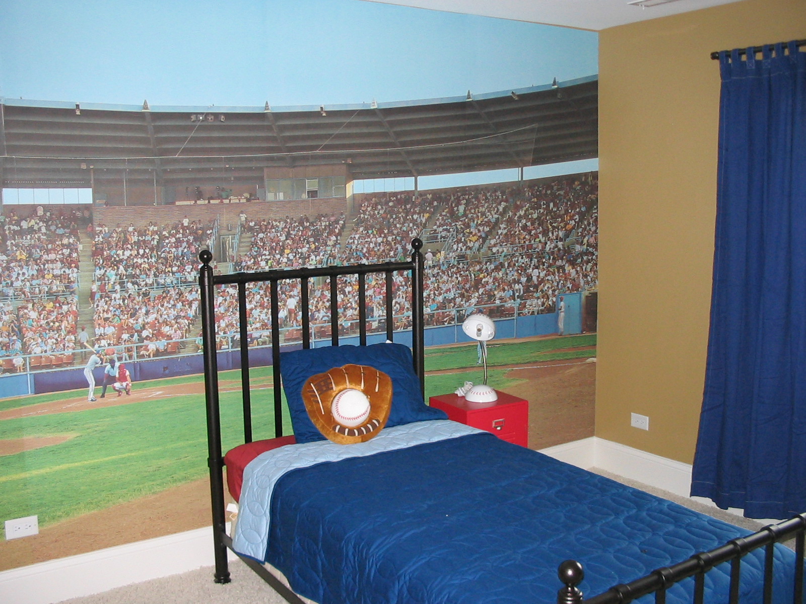 Best Baseball Themed Bedrooms Hirshfield S Color Club This Month