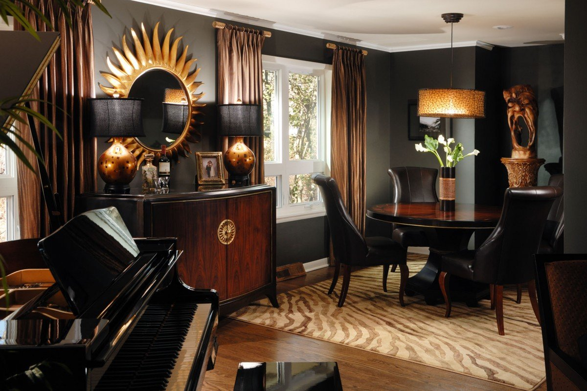 Best Living Room Decorating With Black This Month