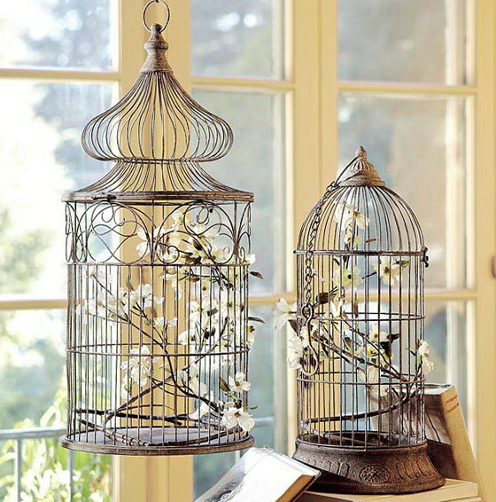Best Decorating With Vintage Bird Cages This Month