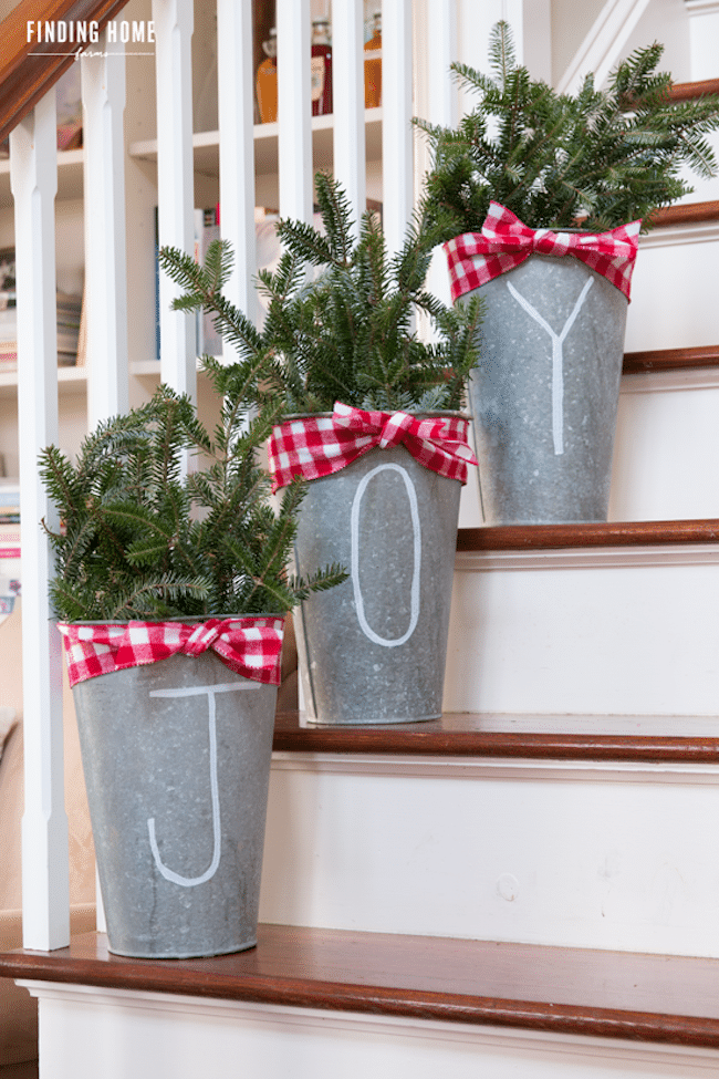 Best A Bit Of Farmhouse Galvanized Zinc Christmas Decor This Month