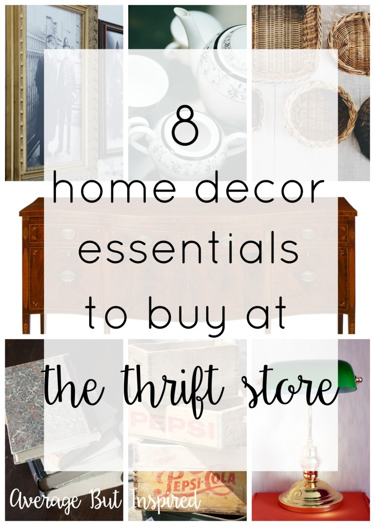 Best 8 Home Decor Essentials To Buy At The Thrift Store This Month
